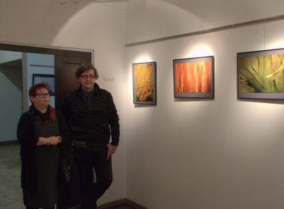 Wernisaż wystawy Mariusza Delesia w Galerii Pomost
