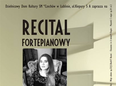 Recital fortepianowy Marty Misztal