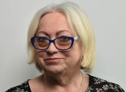 Grażyna Bronisz, inspektorka ds.administracyjnych
