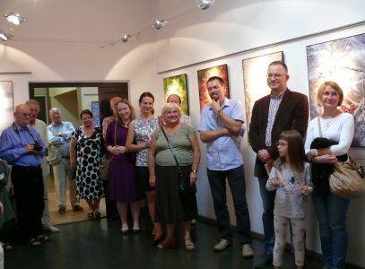 """Wernisaż wystawy """"Małe światy"""" w Galerii Preludium"""
