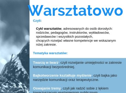 """Nowe propozycje warsztatowe wDDK SM """"Czechów"""""""