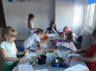 Zajęcia plastyczne dla dzieci i młodzieży