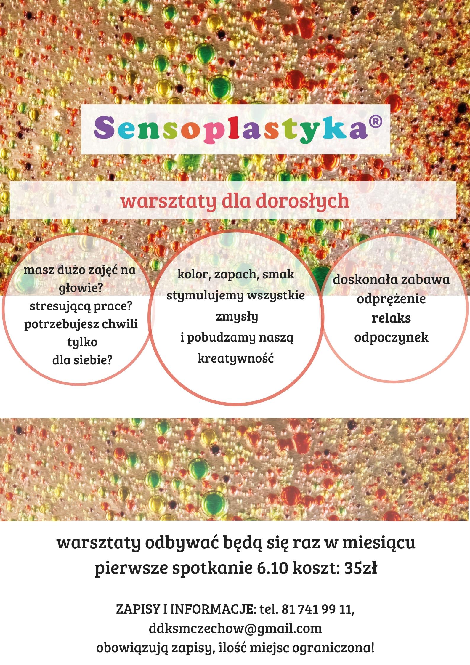 Sensoplastyka – warsztaty dla dorosłych