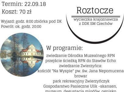 """Roztocze. Wycieczka krajoznawcza z DDK SM """"Czechów"""""""