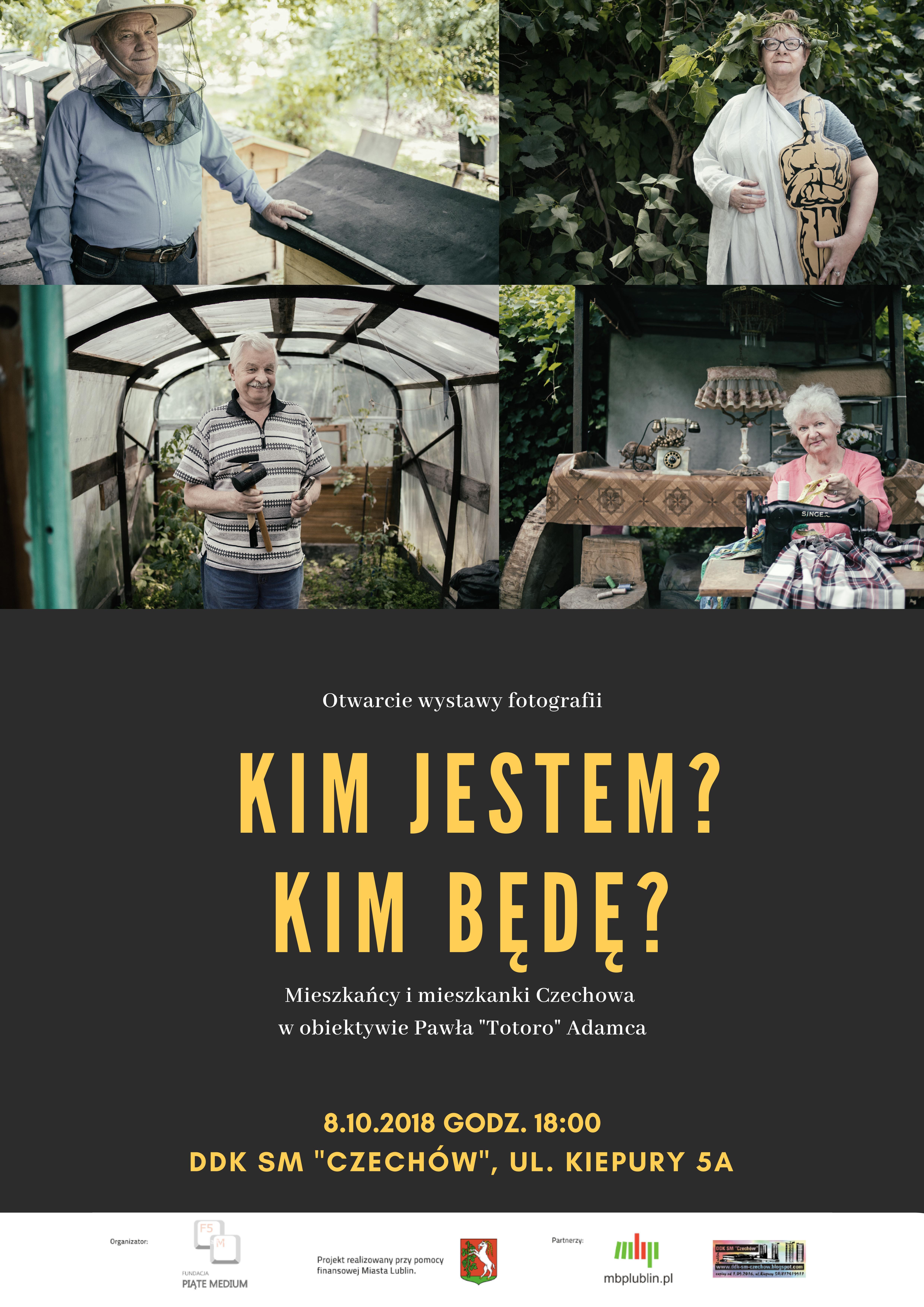 Mieszkańcy imieszkanki dzielnicy Czechów wobiektywie Pawła Totoro Adamca – wernisaż wystawy