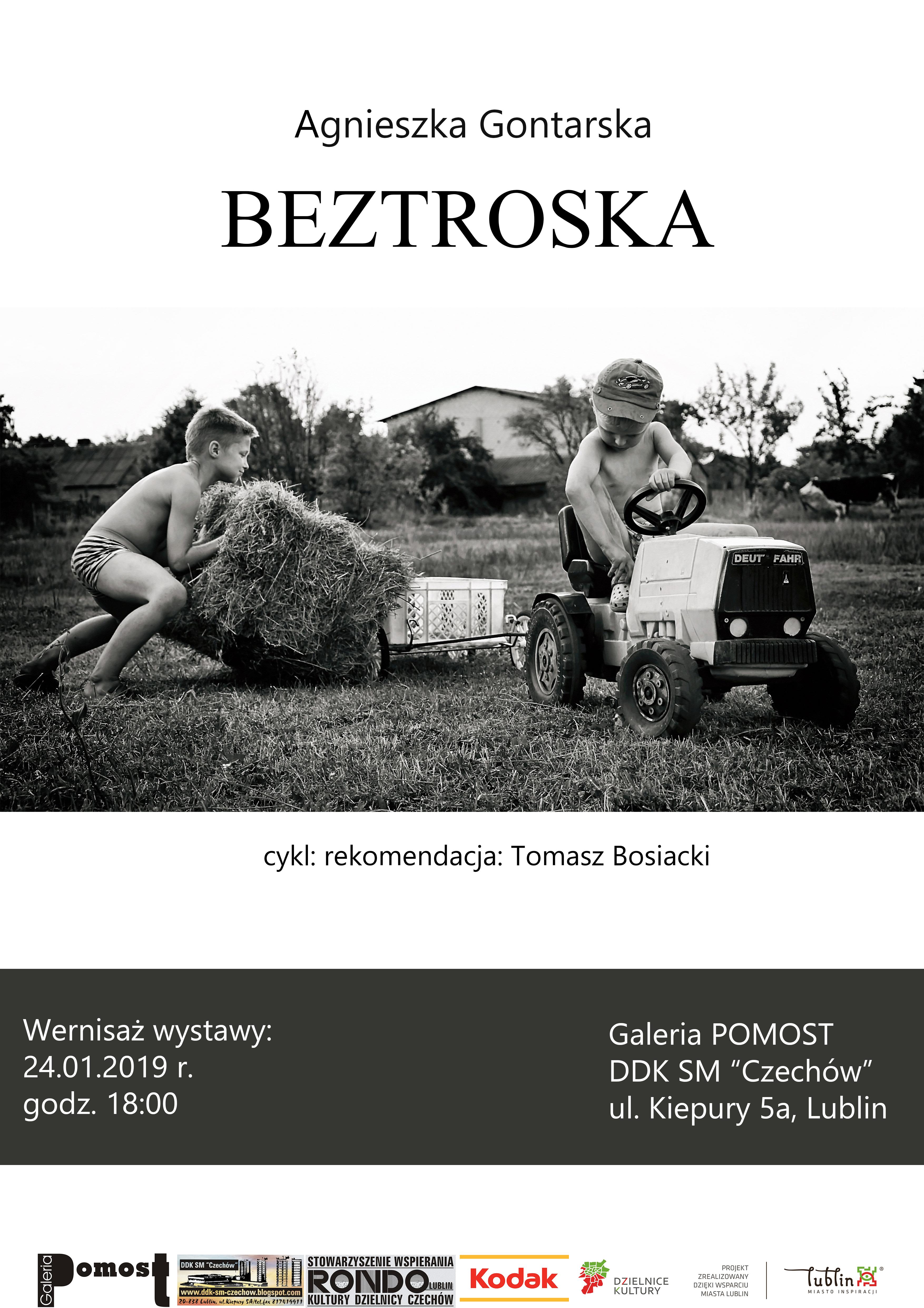 """Wernisaż wystawy Agnieszki Gontarskiej """"Beztroska"""""""