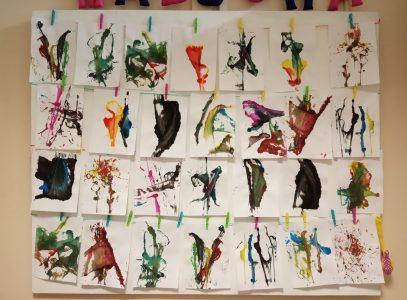Warsztaty manualne: abstrakcje