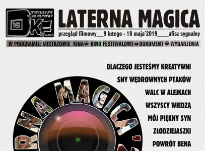 Nowy Przegląd Filmowy Laterna Magica 2019