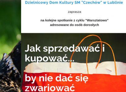 """""""Warsztatowo"""" – marketingowo…"""
