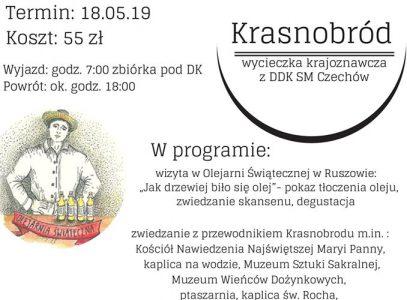 Wycieczka krajoznawcza z DDK SM Czechów- Krasnobród