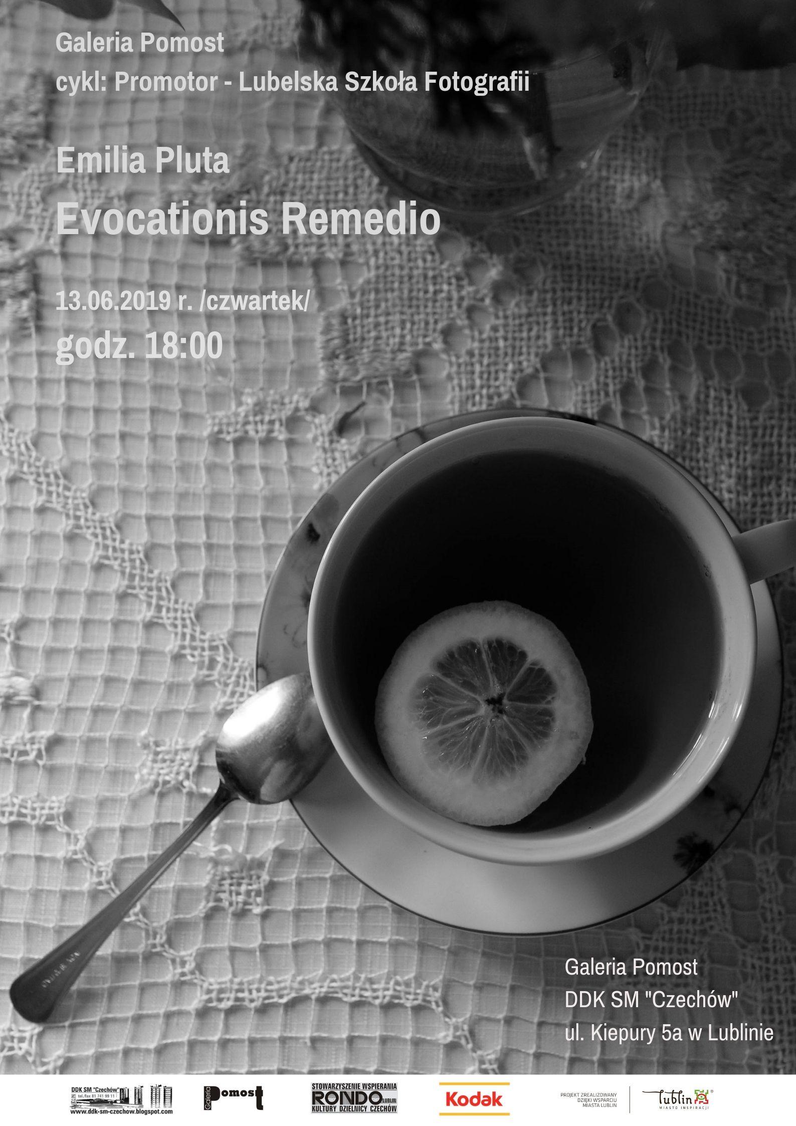 """Wystawa """"Evocationis Remedio"""" w Galerii Pomost"""