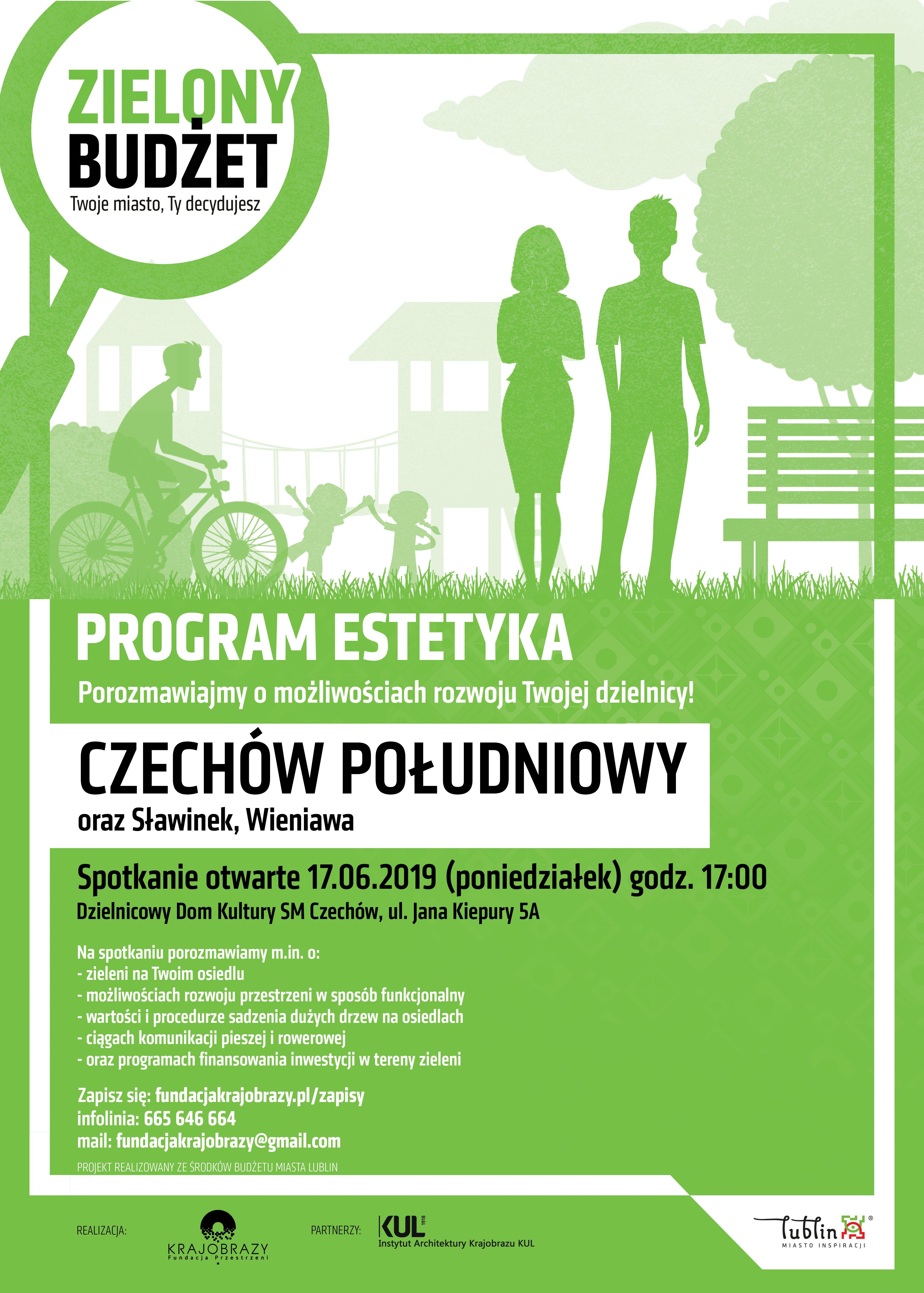 Program Estetyka. Porozmawiajmy omożliwościach rozwoju naszej dzielnicy