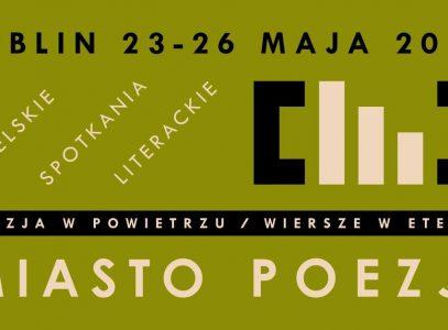 """""""Głodni słów"""" – Miasto Poezji 2019"""