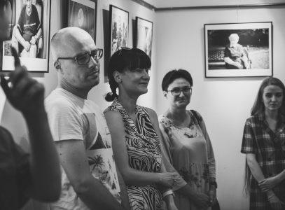 "Wernisaż wystawy Emilii Pluty ""Evocationis Remedio"""