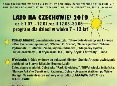 Lato na Czechowie 2019
