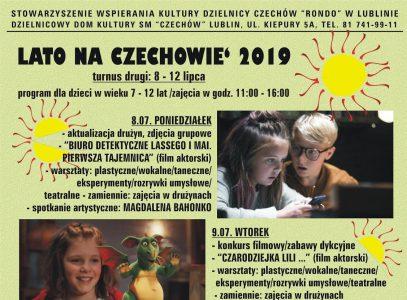 Lato na Czechowie 2019 – turnus II