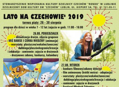 Lato naCzechowie 2019 – turnus V