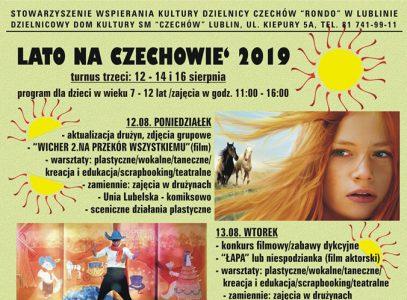 Lato na Czechowie 2019 – turnus III