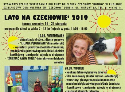 Lato naCzechowie 2019 – turnus IV