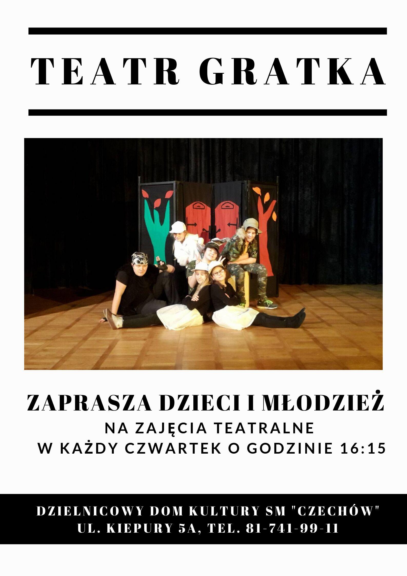 Teatr Gratka zaprasza!
