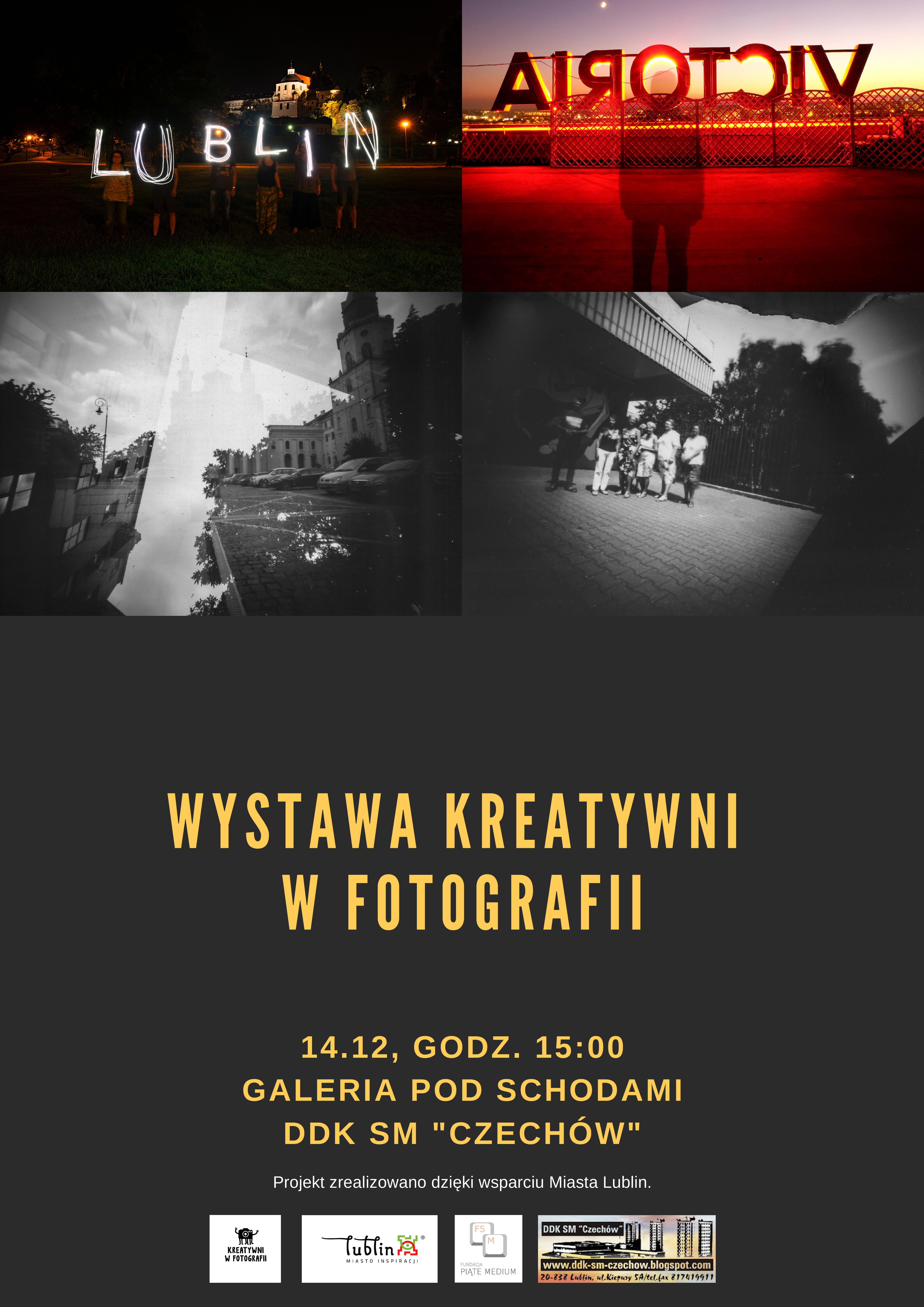 """Wystawa """"Kreatywni wfotografii"""""""