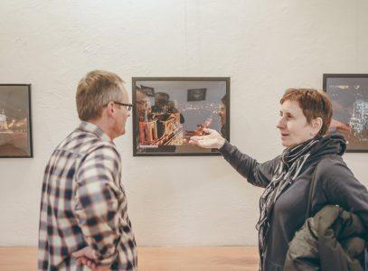"""Wernisaż wystawy """"Kreatywni wfotografii"""" Fundacji 5Medium"""