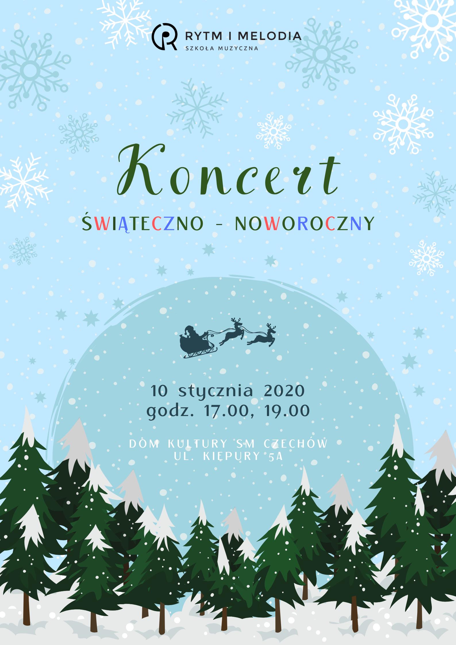 Koncert świąteczno – noworoczny Rytm iMelodia