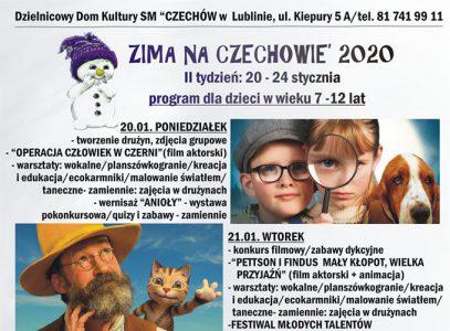 II turnus Zimy naCzechowie 2020
