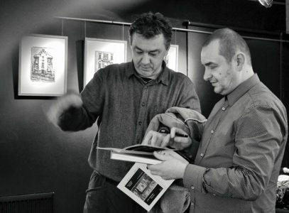 """Fotorelacja zwernisażu wystawy Roberta Pranagala pn.""""Memu miastu"""""""