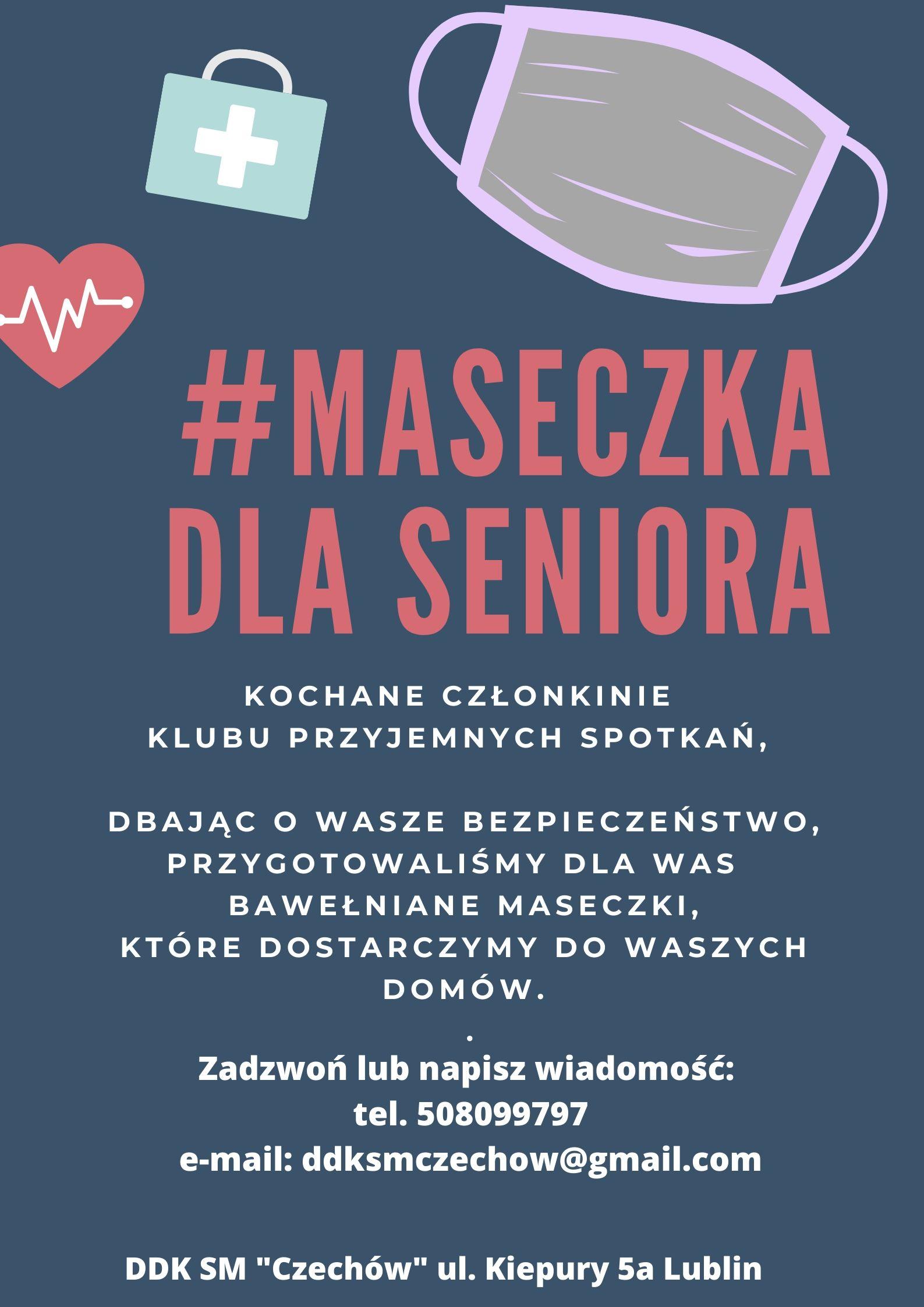 #maseczkadlaseniora
