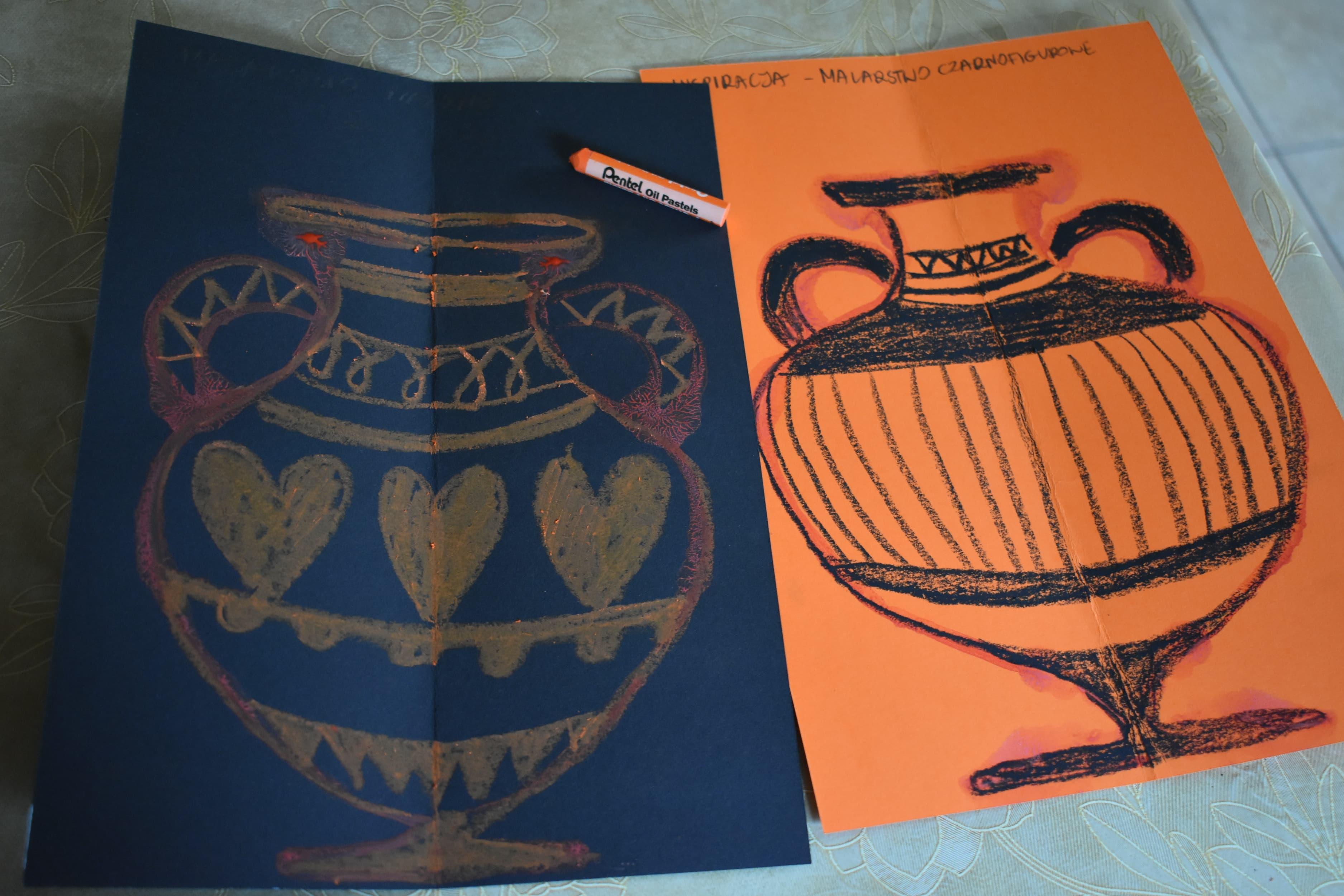 Starożytne wazy – zajęcia manualne