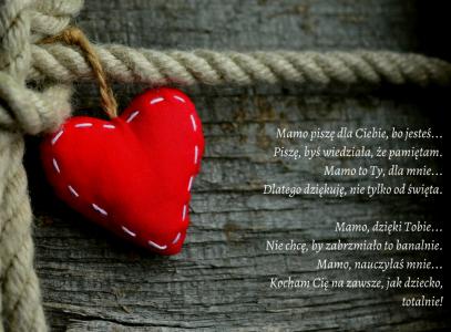 Wiersz dla MAMY