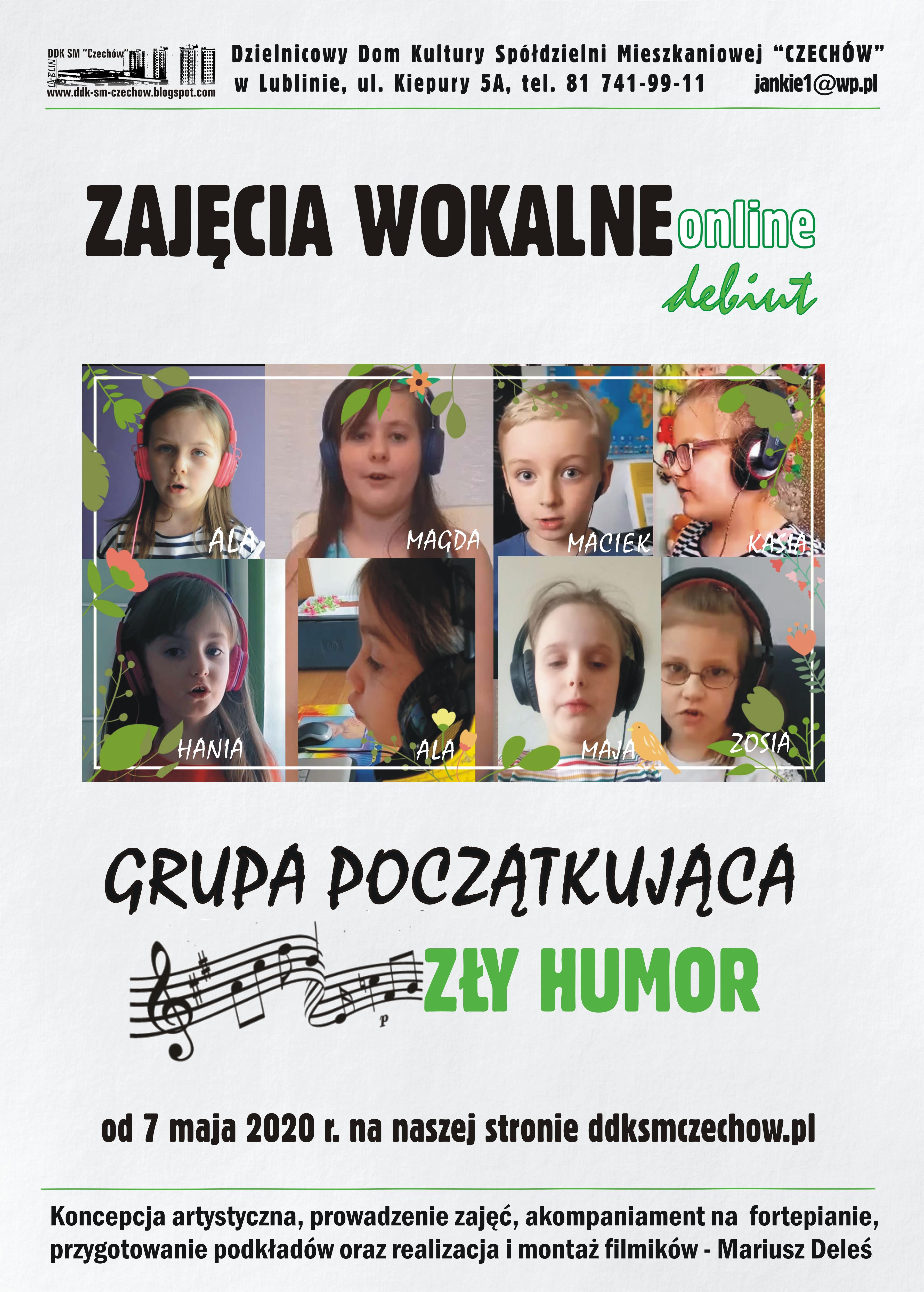 """""""Zły humor"""" – debiut Grupy początkującej"""