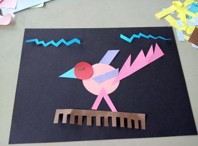 Papierowe układanki – zajęcia manualne