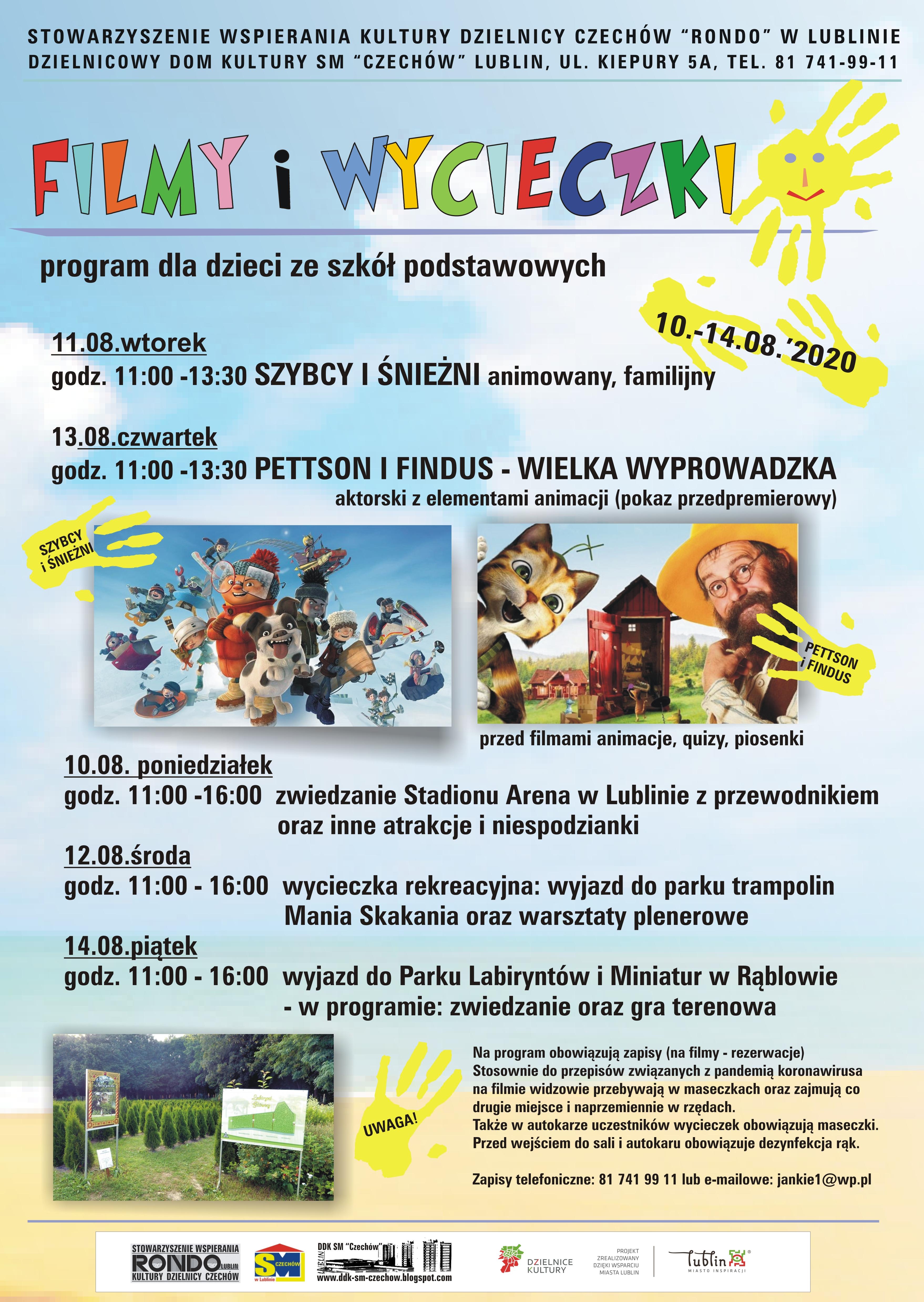 Filmy iwycieczki – 11-14.08.2020 r.