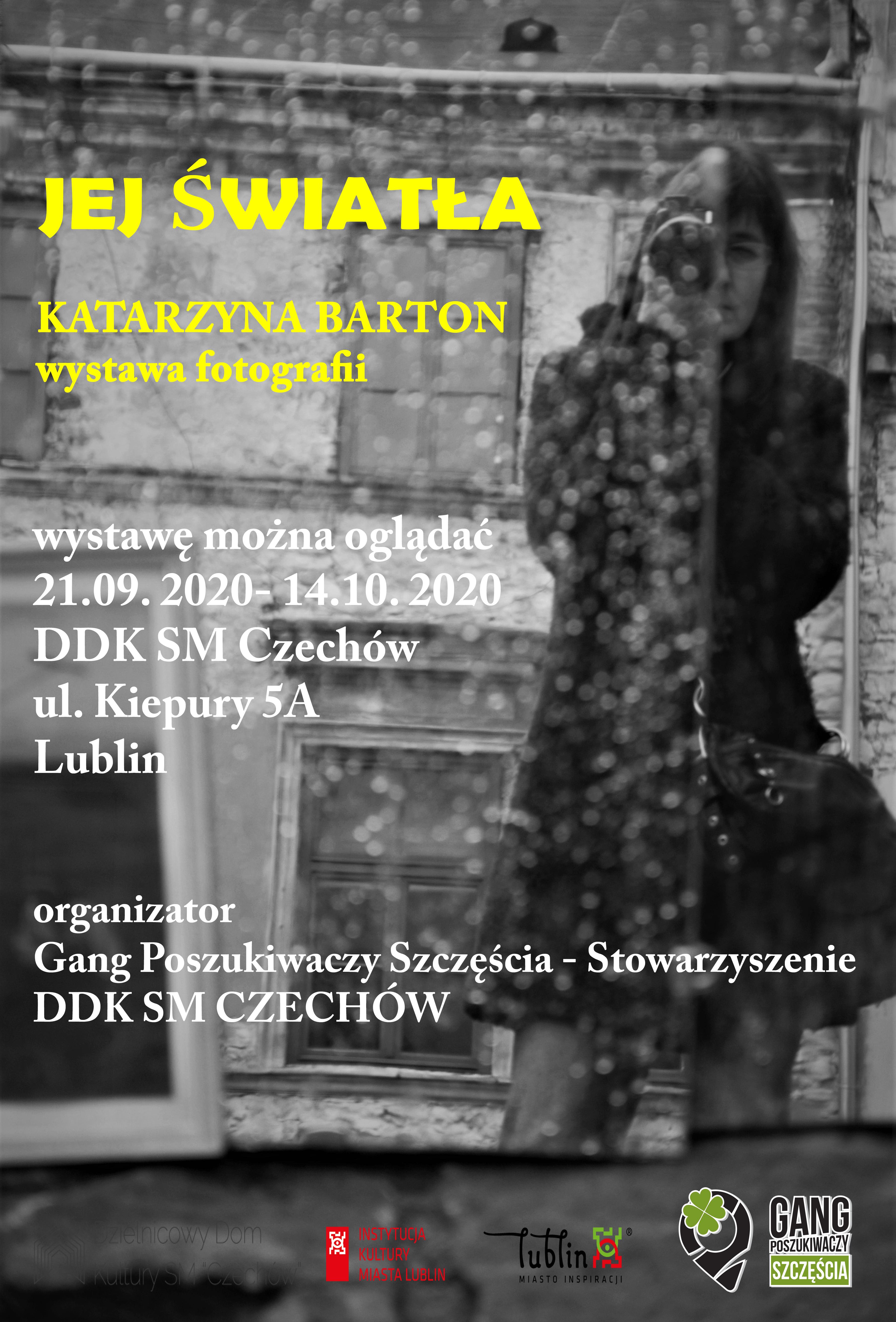 """Wystawa fotografii """"Jej światła"""" Katarzyny Barton"""