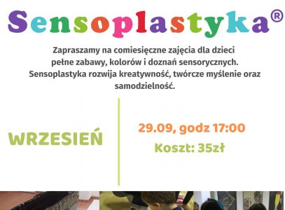 Sensoplastyka – 29.09.20