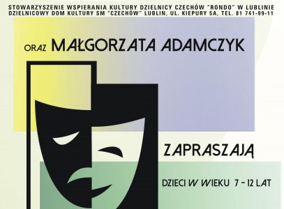 Warsztaty teatralne zMałgorzatą Adamczyk