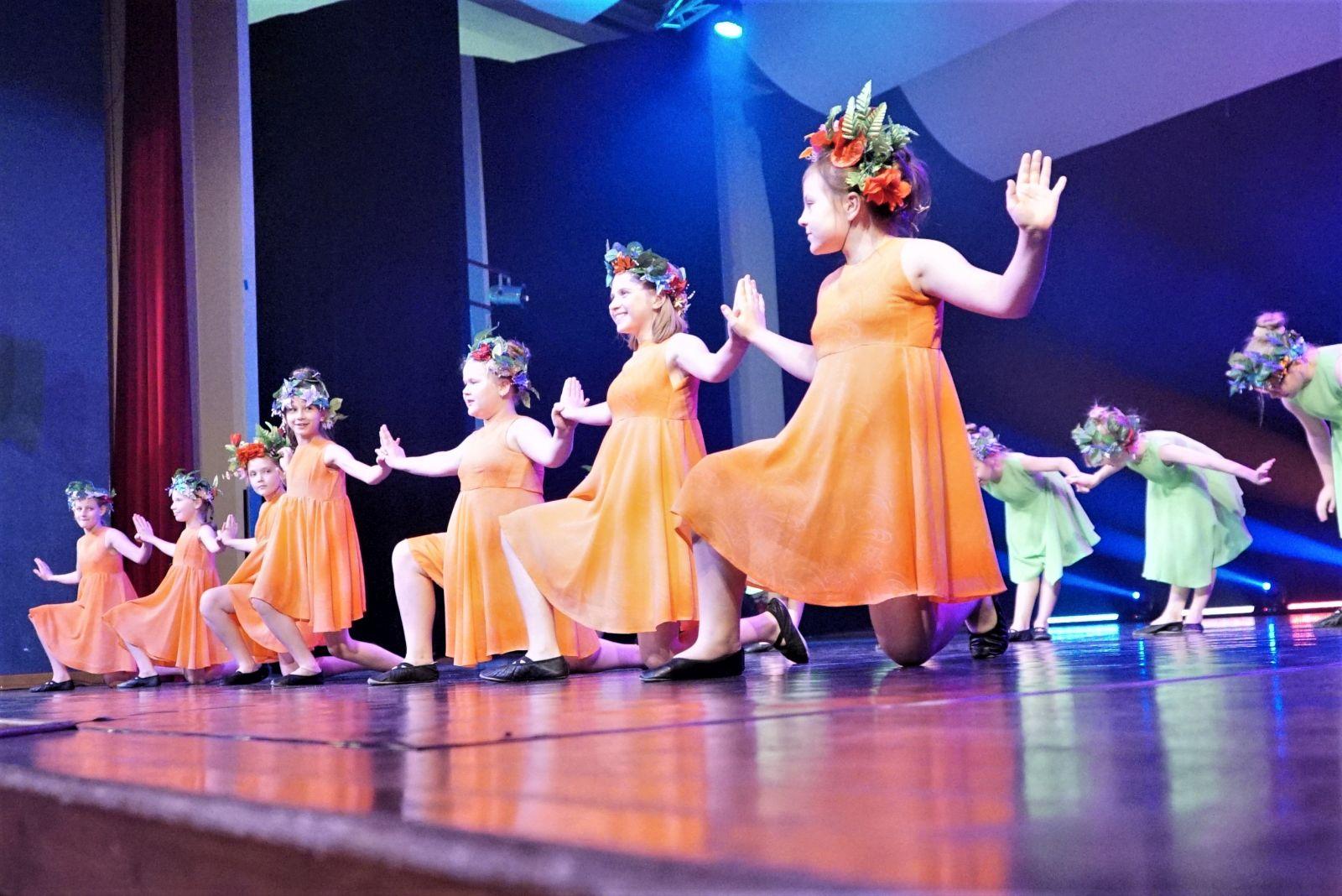 Zespoły taneczne wDDK