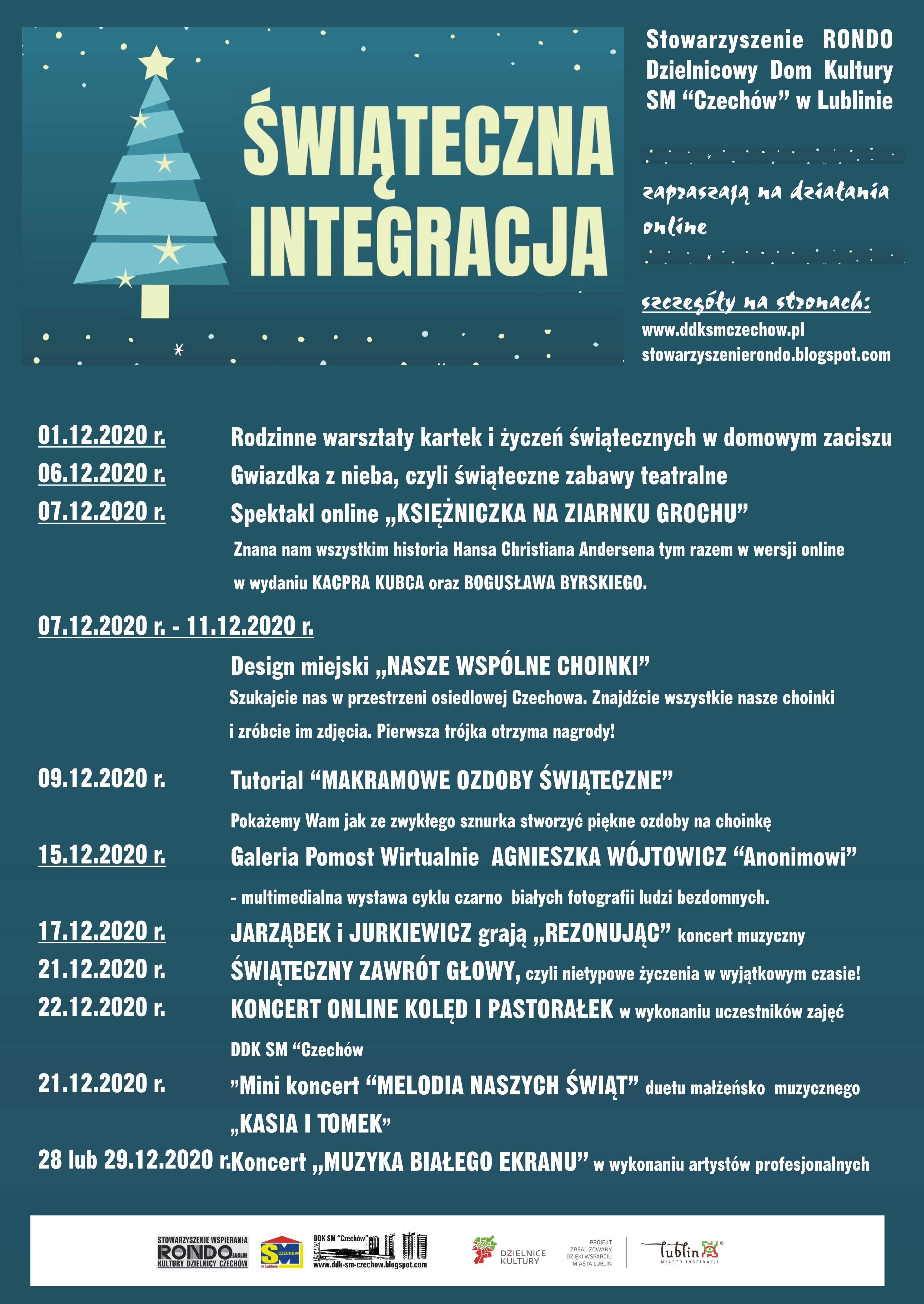 """Świąteczna Integracja zDDK SM """"Czechów"""""""