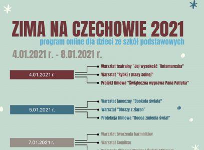 Zima naCzechowie 2021 – turnus I