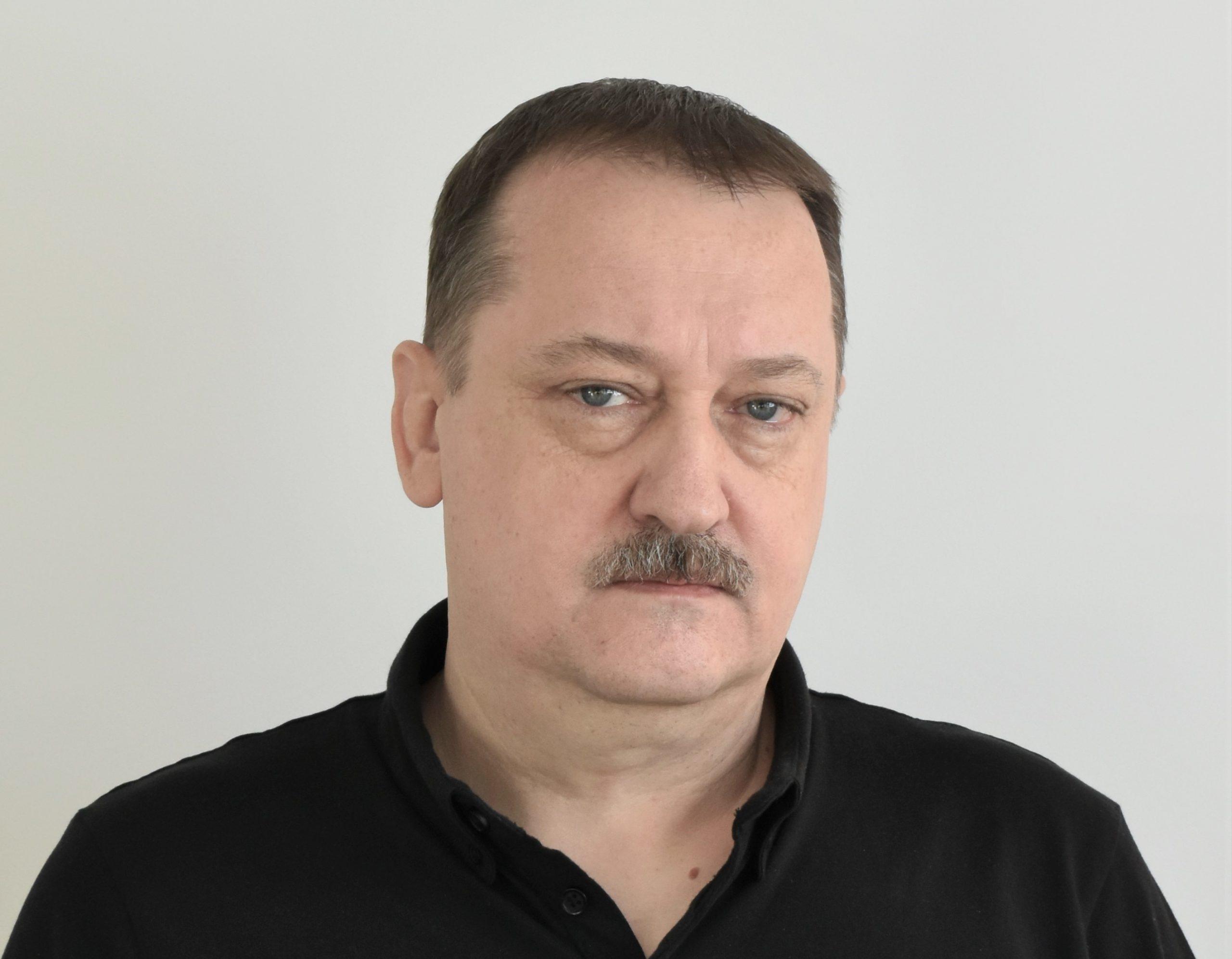 Sławomir Olchowy, referent ds.technicznych/ instruktor modelarstwa