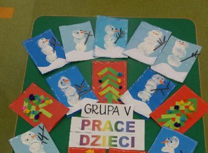 """Warsztaty kartek iozdób świątecznych – """"Różny wiek podobne pasje"""""""