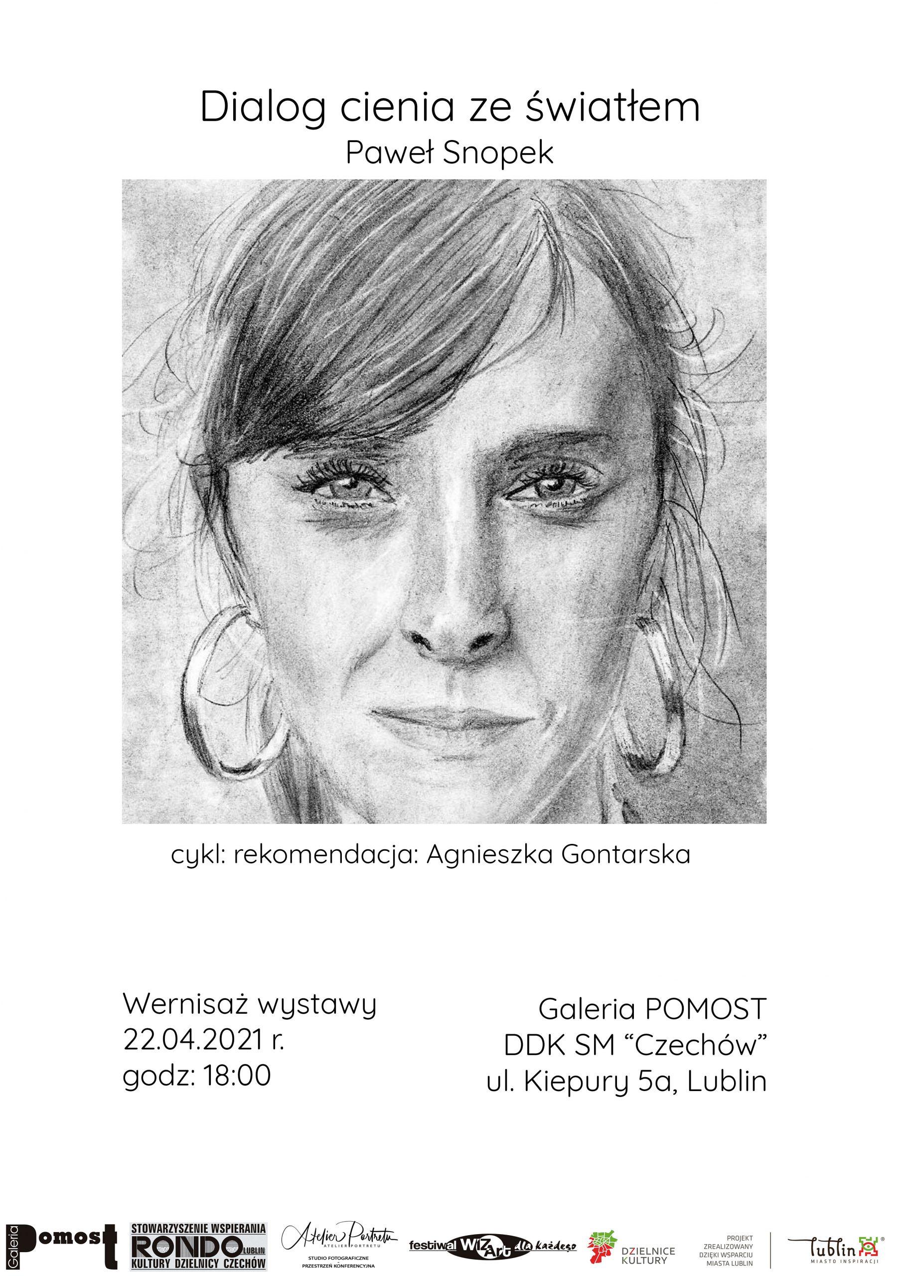"""Wernisaż wystawy Pawła Snopka """"Dialog cienia zeświatłem"""""""