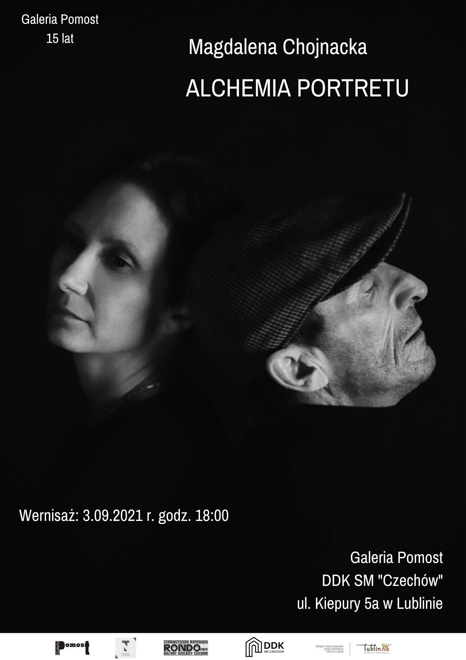 """Wernisaż wystawy Magdaleny Chojnackiej """"Alchemia portretu"""""""